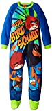 Angry Birds Big Boys' Micro Fleece Blanket Sleeper, Blue, X-Small