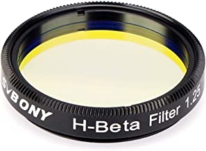 SVBONY SV132 H-Beta Filter 25nm 1.25 inches Eyepiece Filter for Horsehead Nebula California and Cocoon Nebulae in Dark Skies