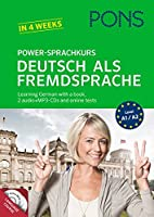 Pons German series: PONS Power-Sprachkurs Deutsch als Fremdsprache - Book + CD