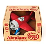 Green Toys Airplane - BPA Free, Phthalates Free, Red Aero Plane for Improving Aeronautical Knowledge of Children. Toys and Games in Box