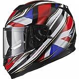 Black Full-Face Motorbike Helmets