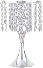 Candle Holders Candle Holder Flower Candle Holder Candle Holder Golden Candle Holder Crystal Candle Holders (Color : Silver)