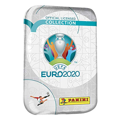 Sammelkarten Panini UEFA EURO 2020 Adrenalyn XL TC, Pocket Tin, 3 Booster inklusive LE Card und Special Extra Card