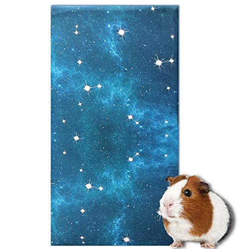 Kerrogee Guinea Pig Fleece Cage Liner,Bedding for Small Animals, Suit for Chinchilla, Hedgehog, Bunny Rabbit, Midwest Guinea Pig, Small Pet Blanket Mat