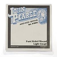 John Pearse Acoustic Strings Pure Nickel Light 12-54 [並行輸入品]