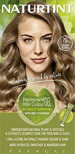 Naturtint Naturtint Permanent Haarfarbe - 7G Goldblond, 5,6 Flüssigunzen (6-Pack) 1er Pack(1 x)