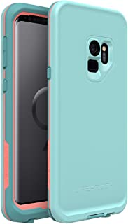 LifeProof FRĒ SERIES Waterproof Case for Samsung Galaxy S9 - Wipeout (Blue Tint/Fusion Coral/Mandalay Bay)