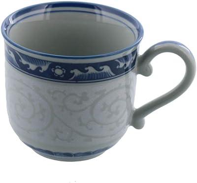 テ?ブルウェアイースト コーヒーカップ 160cc 波ライン唐草紋 マグカップ 和食器 カフェ食器