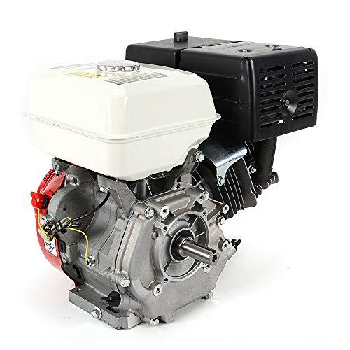 420CC 15PS Petrol Engine Benzinmotor Standmotor Schwerlastmotor Kart Motor Ohv Horizontal Gasoline Engine Go Kart Starter 4-takt Forced Air Cooling 9000W 3600r/min Shaft Diameter 25mm