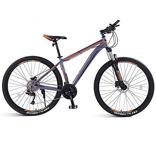 Mountain Bike da Bici 33 velocità Bici da 26 Pollici / 29 Pollici Bici da Corsa per Ragazzo E Ragazza,Arancia,29in/33speed