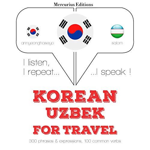 Korean – Uzbek. For travel cover art