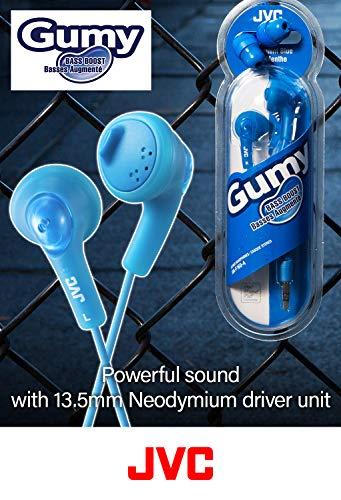 JVC HAF160V Gumy Ear Bud Headphone Violet