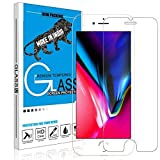 Divine Tempered Glass Screen Protector for Apple iPhone 6Plus/6sPlus Apple iPhone 7 Plus / 8 Plus with Installation kit (Full Transparent only for Main Display Screen Area)