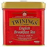 Twinings - Tè nero English Breakfast, 2 confezioni (2 x 100 g)