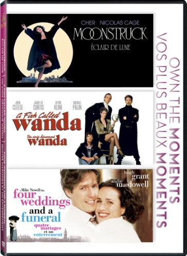 Four Weddings And A Funeral + Fish Called Wanda + Moonstruck DVD