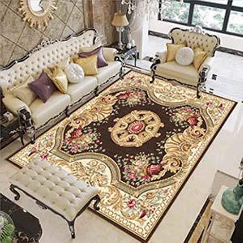 Venta moderna suave persa alfombra para sala de estar antideslizante alfombra antiincrustante para dormitorio salón