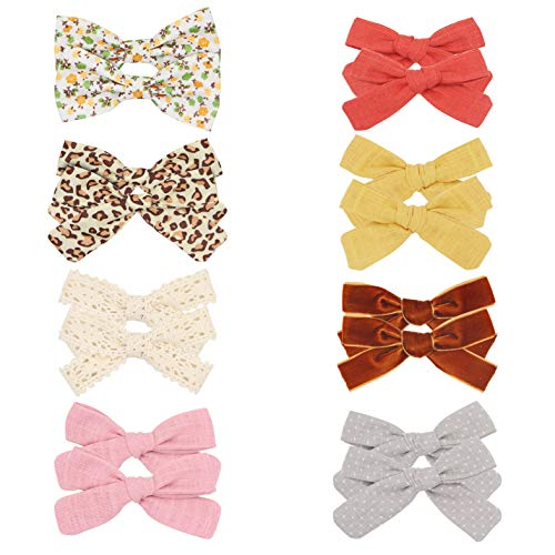 Girls Cotton Animal Flowers Clips,Hair Accessories for Baby...