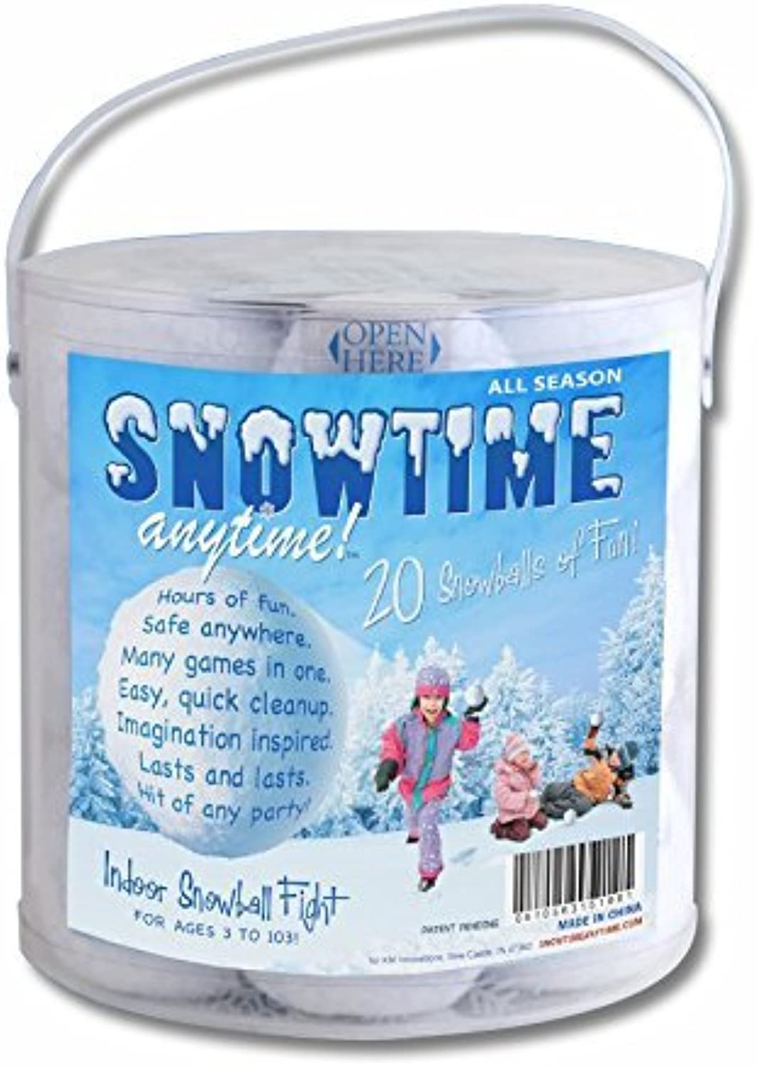 Indoor Snowball Fight SNOWTIME ANYTIME by SNOWTIME ANYTIME
