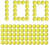LVHERO 100 Billes en Mousse Nerf Rival Compatible Recharge Billes Balle Flechettes
