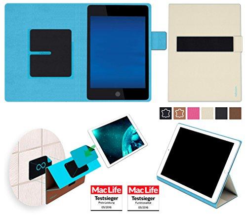 Hülle für Hewlett Packard Pro Slate 8 Tasche Cover Hülle Bumper | in Beige | Testsieger