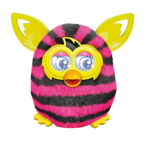 Hasbro – A4337 – Furby Boom – Straight Stripes – Version Anglaise (Import Royaume-Uni)