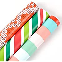 3-Pack Wrapping Paper Roll (44.5 X 300cm)
