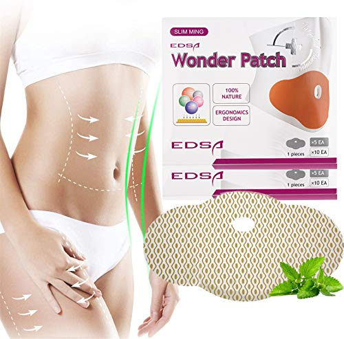 Slim Patch,10pcs Lazy Weight Loss Belly Fat Burning Patches Stomach Abdomen Slimming Navel Stickers, Slimming Patches,Slimming Patch