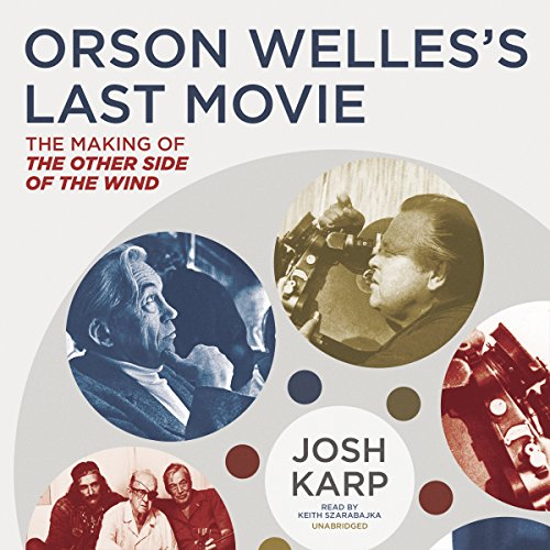 Orson Welles's Last Movie audiobook cover art