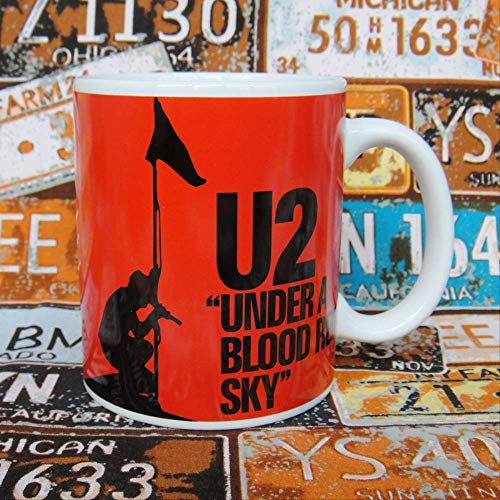 U2 band The Joshua Tree Memorial Ceramic Cup