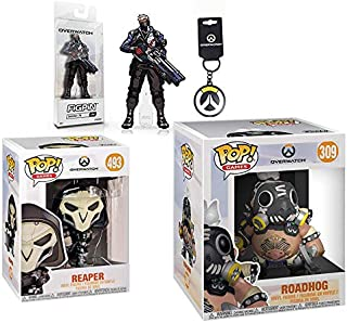 Funko He's The Worst Player in The Best Game POP! Games: Overwatch - Reaper 493 + 6