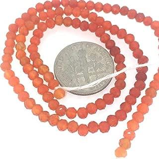 Jewel Beads Natural Beautiful jewellery Carnelian Gemstone Strand-Semi Precious Gemstone Bead-Faceted Handcut Rondelle Bead- 3-3.5mm 13.5 inchesCode:- JBB-36265