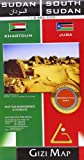 Sudan & South Sudan Geographical (GEOGRAPHICAL MAP - 1/2.500.000) (French Edition)