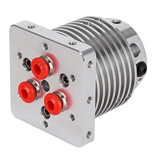 Vbestlife 3 in 1 Nozzle Hot End Extruder 0.4/1.75mm Filament 3D Printer Accessories for Bulldog/for MK8 (12V)