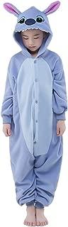 NEWCOSPLAY Halloween Unisex Animal Pyjamas Child Cosplay Costume Blue Stitch