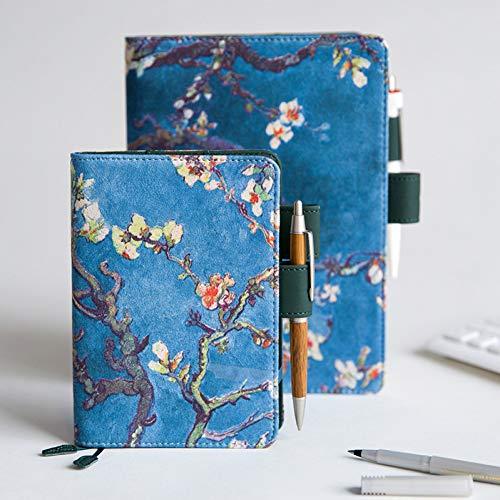 FHOMEY Cuaderno Cubierta De Pintura Para El Cuaderno Diario A5 A6 Estándar Cute Daily Weekly Planner 2020 Organizer Agenda Notepad Journal