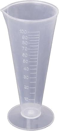 Recipiente graduato da cucina/laboratorio, in plastica, con gradazione fino a 100ml