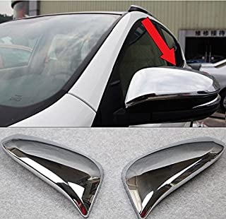 Fit For Toyota New RAV4 2016 2017 2018 Chrome Rear View Mirror Side Molding Cover Trim