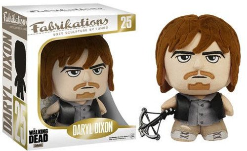 Walking Dead Funko - Peluche The Daryl Dixon Fabrikations 15cm - 0849803061975