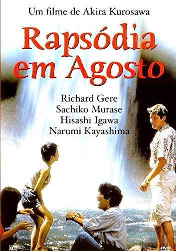DVD rapsódia em agosto