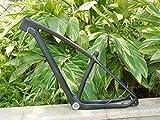 FLYAWAY Cuadro de Carbono MTB Cuadro de Carbono Toray Carbono Completo MTB 29'Rueda Bicicleta de montaña Bicicleta 29Er Cuadro de Ciclismo MTB 19 Bb30 Ud Matt