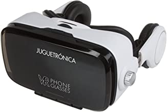 Juguetrónica - VR Phone Glasses 3D - Gafas de realidad virtual con altavoces - Compatible con iOS y Android