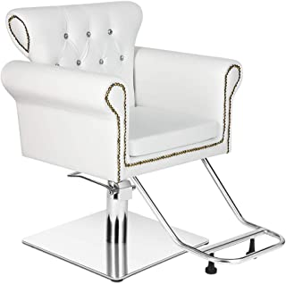 Vintage Hydraulic Styling Barber Chair Salon Spa Beauty Chairs Equipment (20