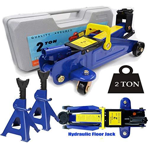 Xinng 2T 4000lbs Floor Jack Car Trolley Jack Hydraulic Jack Quick Lift Jack Heavy Duty Portable...