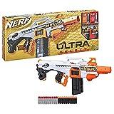 Hasbro Nerf Ultra - Select, blaster completamente motorizzato, lancia a distanza o con precisione, include...