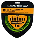 Jagwire pck502Kit Cable y Gaines Unisex, Organic Green