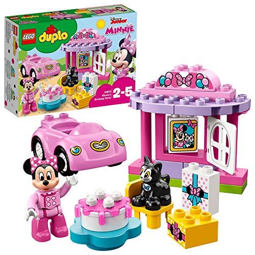 LEGO10873DuploDisneyFiestadecumpleañosdeMinnie,JuguetedeconstrucciónconMini FiguradeMinnieMouse