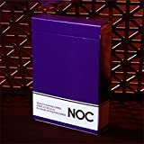NOC Original Deck (Purple) Printed at USPCC by The Blue Crown - Close-Up Magic -