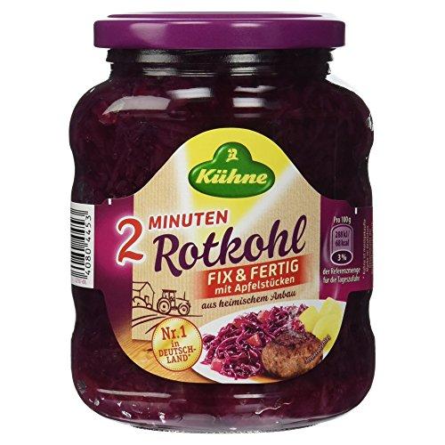 Kühne Rotkohl Fix und Fertig - Der Schnelle, 370 ml