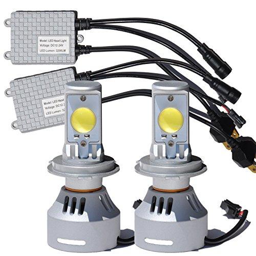 『LEDヘッドライト H4 HI/LO 7000K 6400ルーメン H05 CREEチップ 両面 LEDバルブ オリジナル』の4枚目の画像