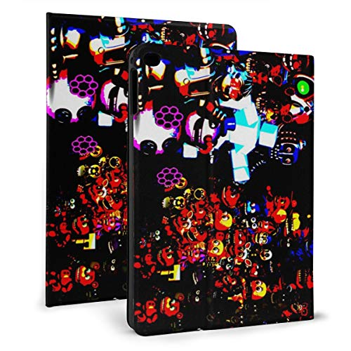 Drawing A FNAF Cool Colorful Background Ultra Slim IPad Protective Leather Case Auto Sleep/Wake IPad Cover and Adjustable Stand for Ipad Mini 4/5 (7.9In)& Ipad Air 1/2 (9.7In)